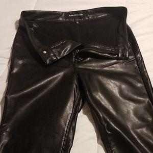 Ashley Mason faux leather pants NORDSTROM